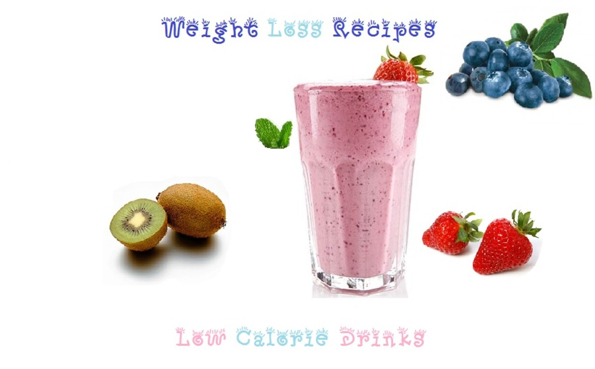 Healthy Low Calorie Smoothies