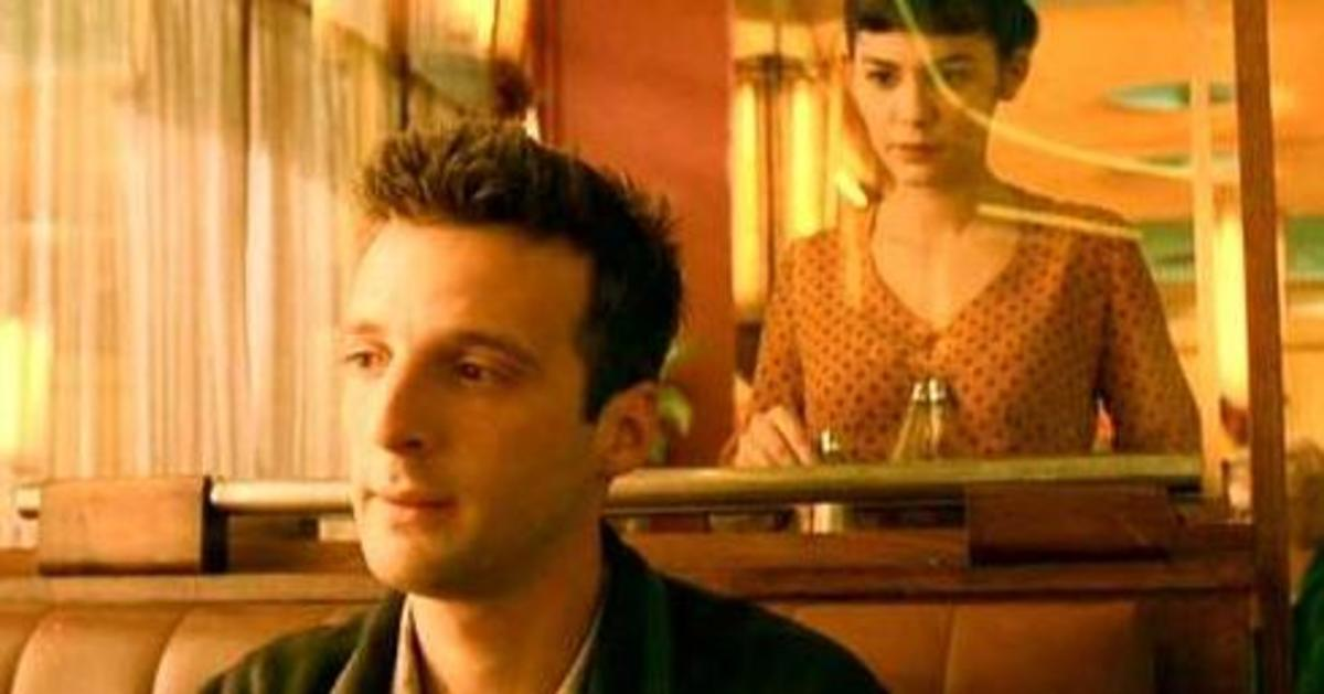 "A screen capture from the French movie ""Amélie""."