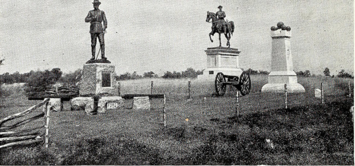 "Page 14 of ""Gettysburg : the story of the Battle of Gettysburg and the field described as it is on the fiftieth anniversary, 1863-1913"" (1913)"