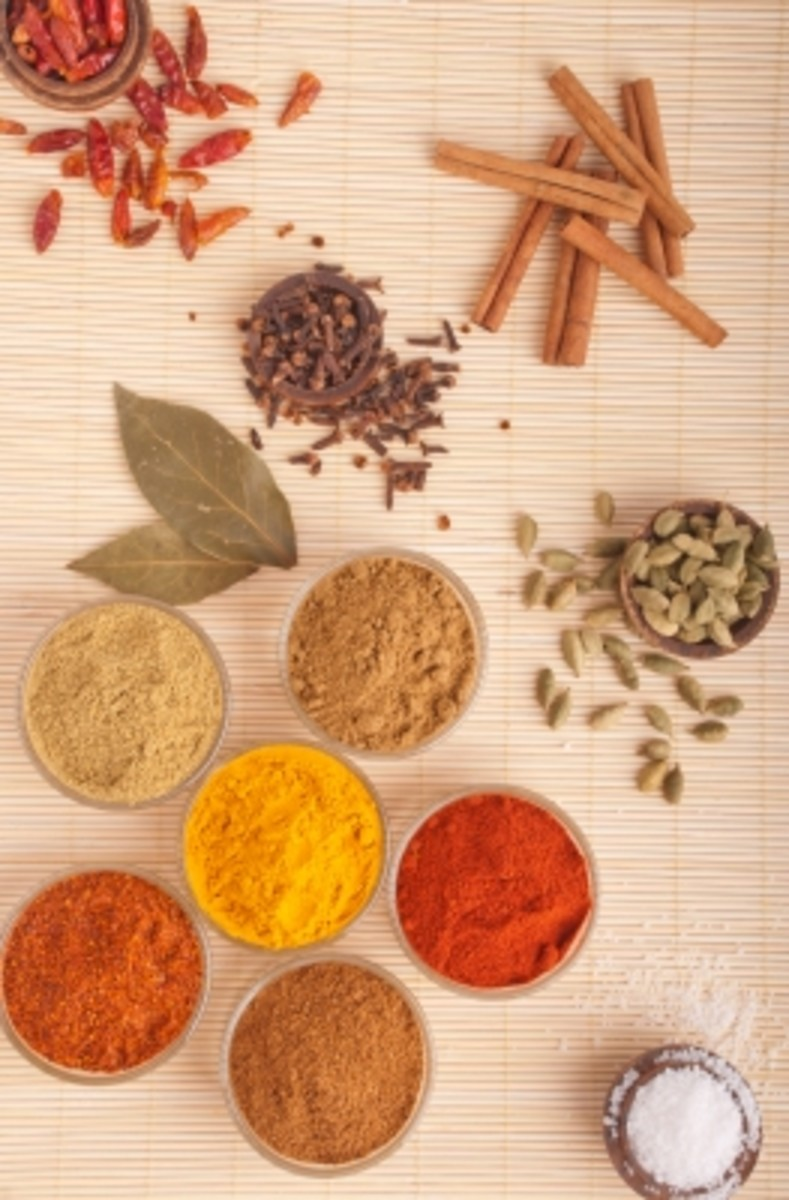 mouthwash ingredients contain fresh or dried herbs and spices including cinnamon, cloves and turmeric.