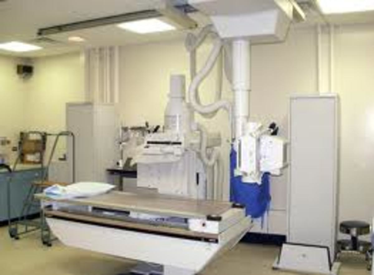 How an X Ray department should look.