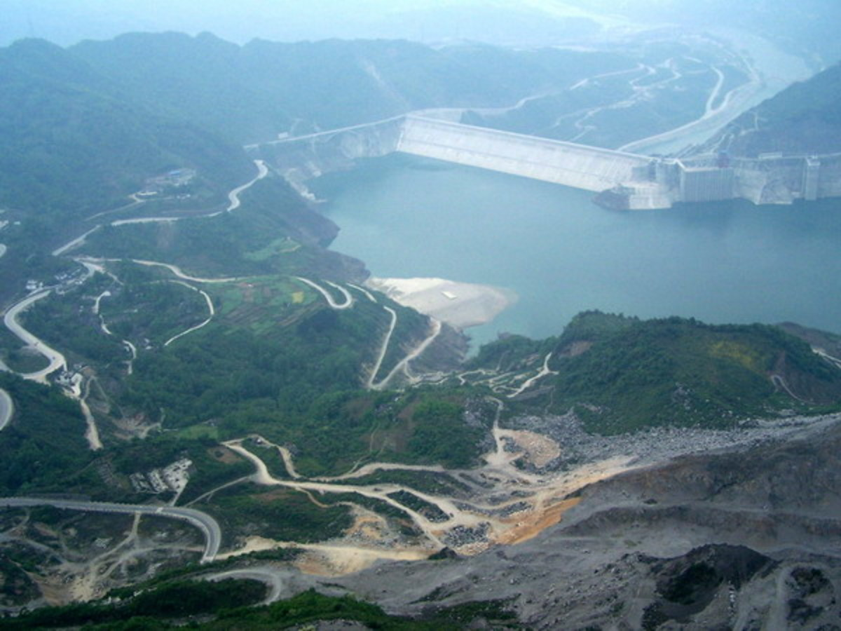 The Zipingpu Dam