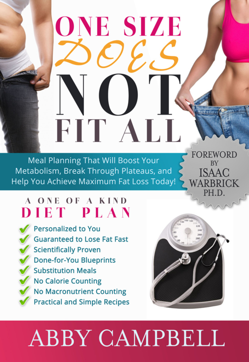 One Size Does NOT Fit All Diet Plan - $19.95