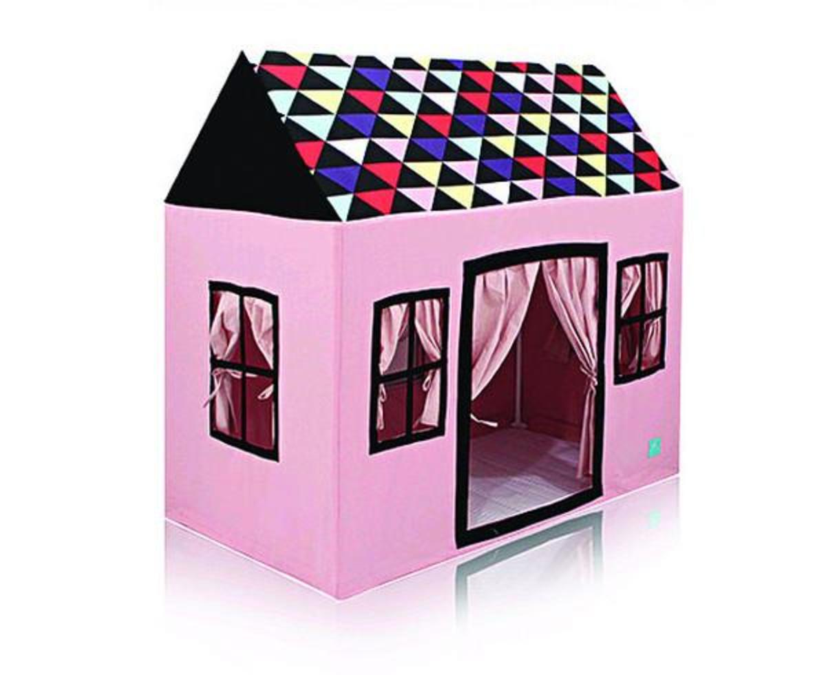 How to Make a Fabric Playhouse