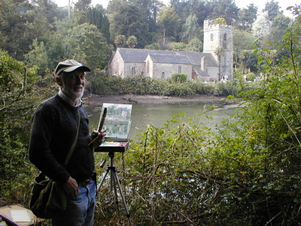 Famous Cornwall Artists: An Artists Perspective of St Just Church