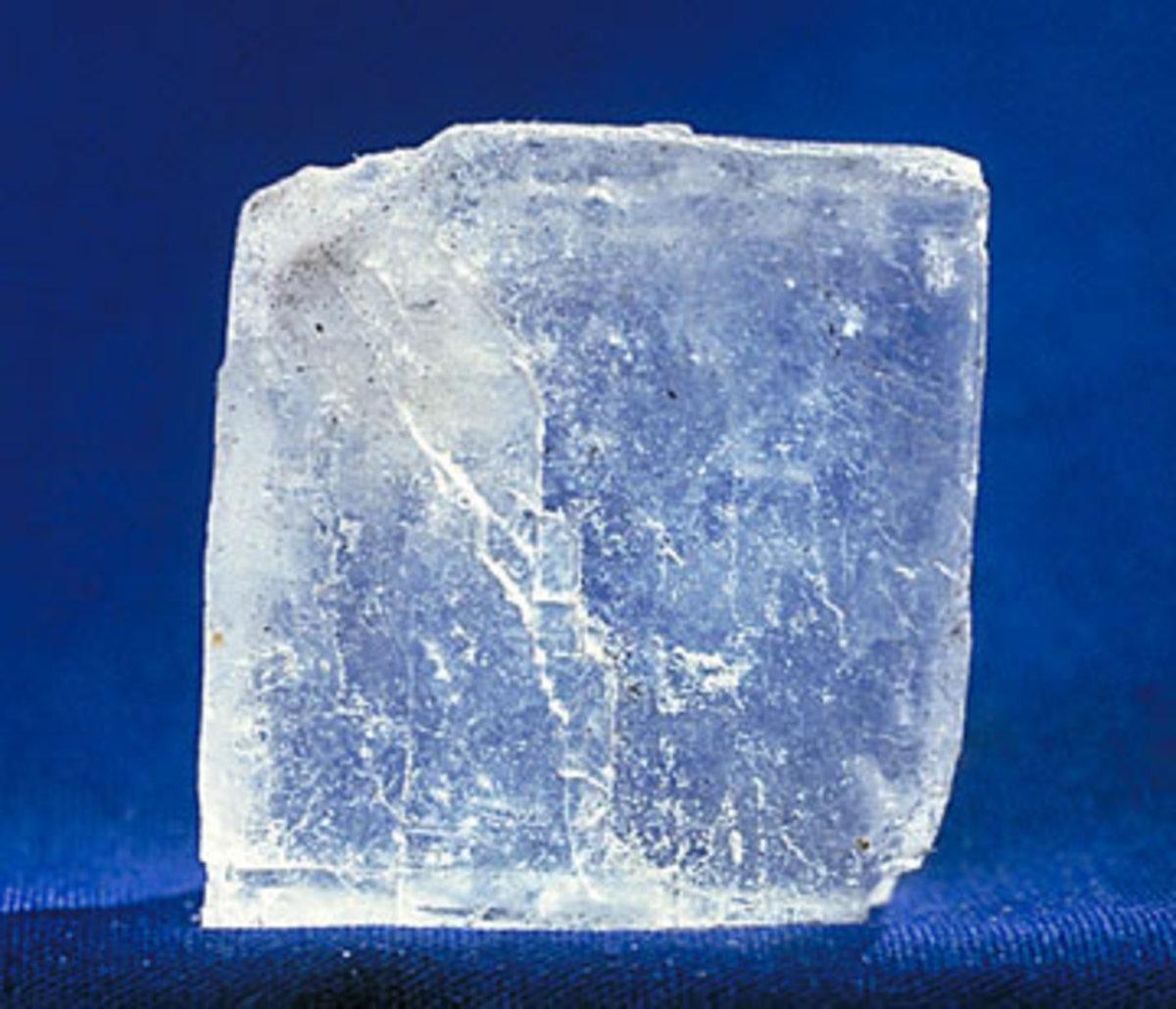 Salt granule.