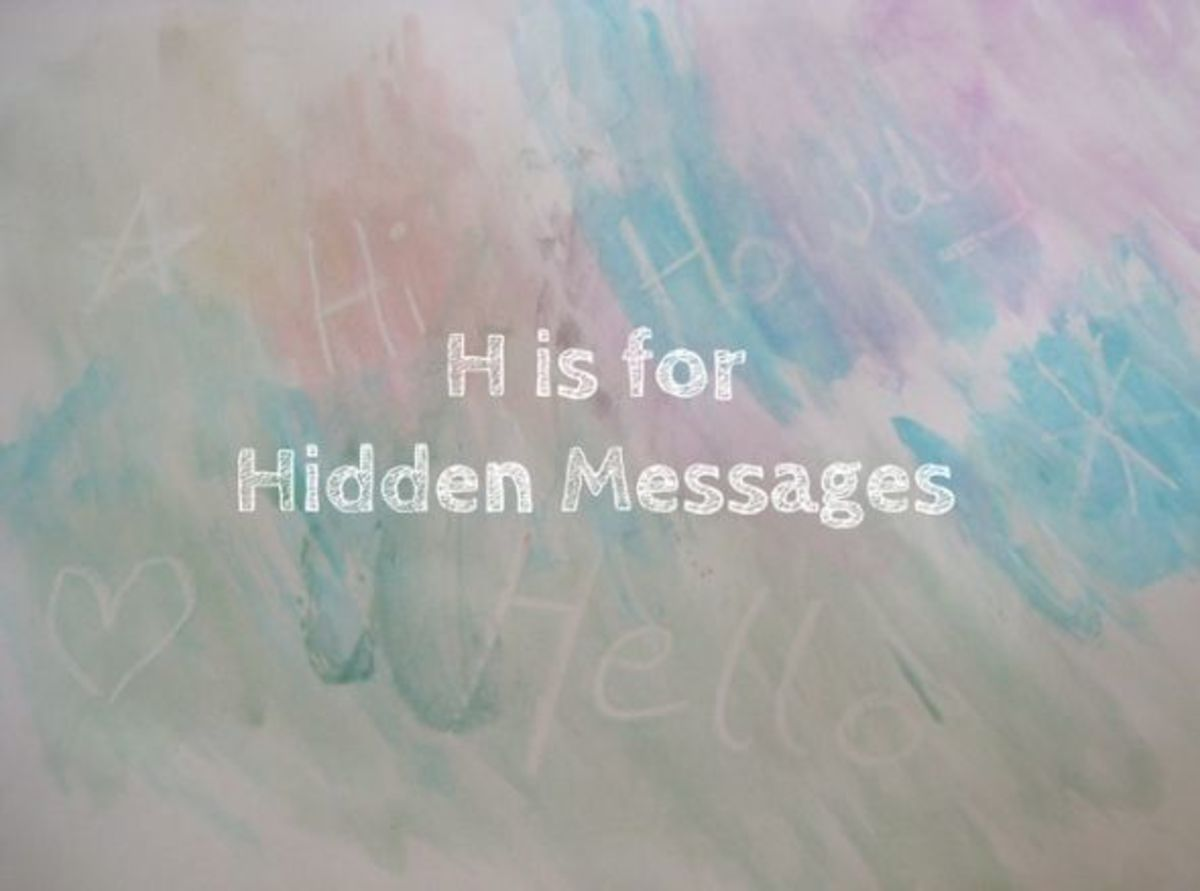 h is for hidden messages alphabet activities for kids