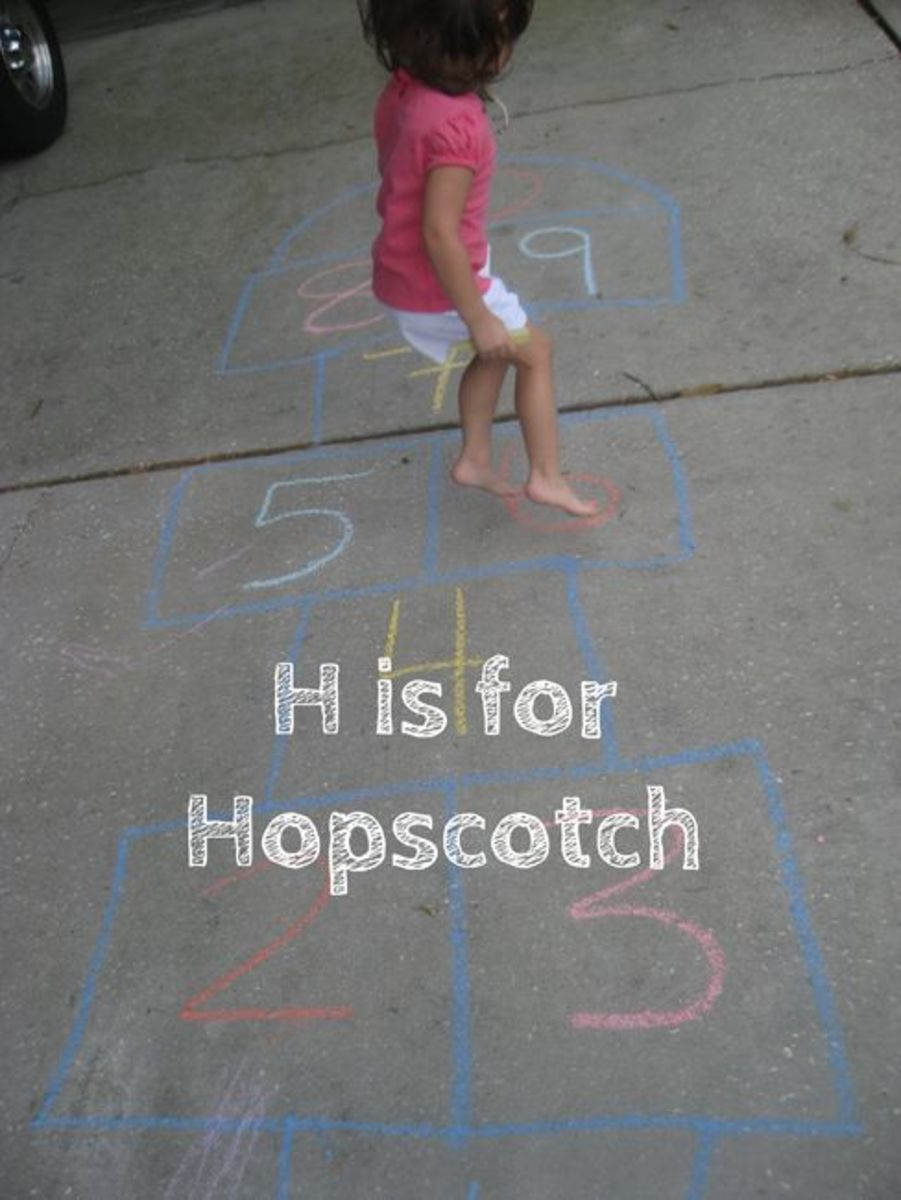 H is for Hopscotch!