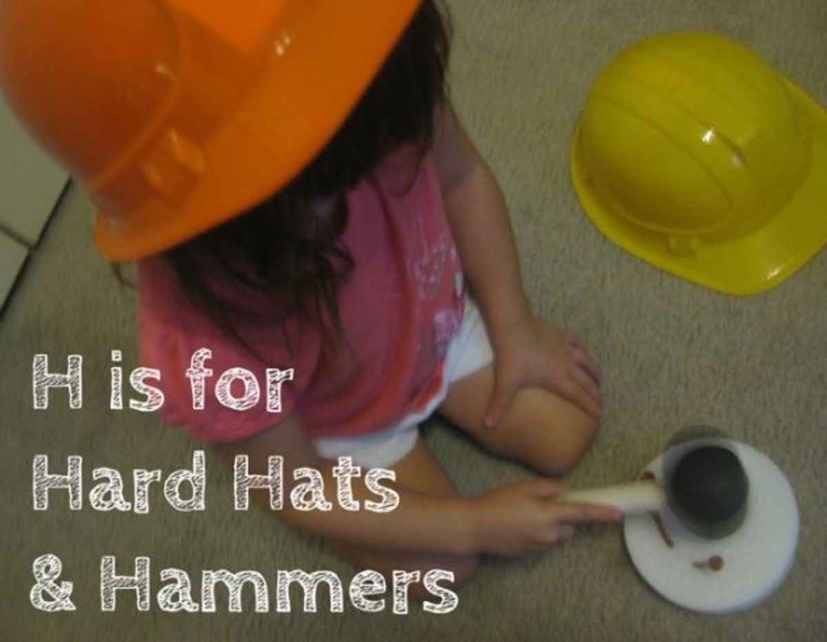 h is for hard hats and hammers alphabet activities for kids