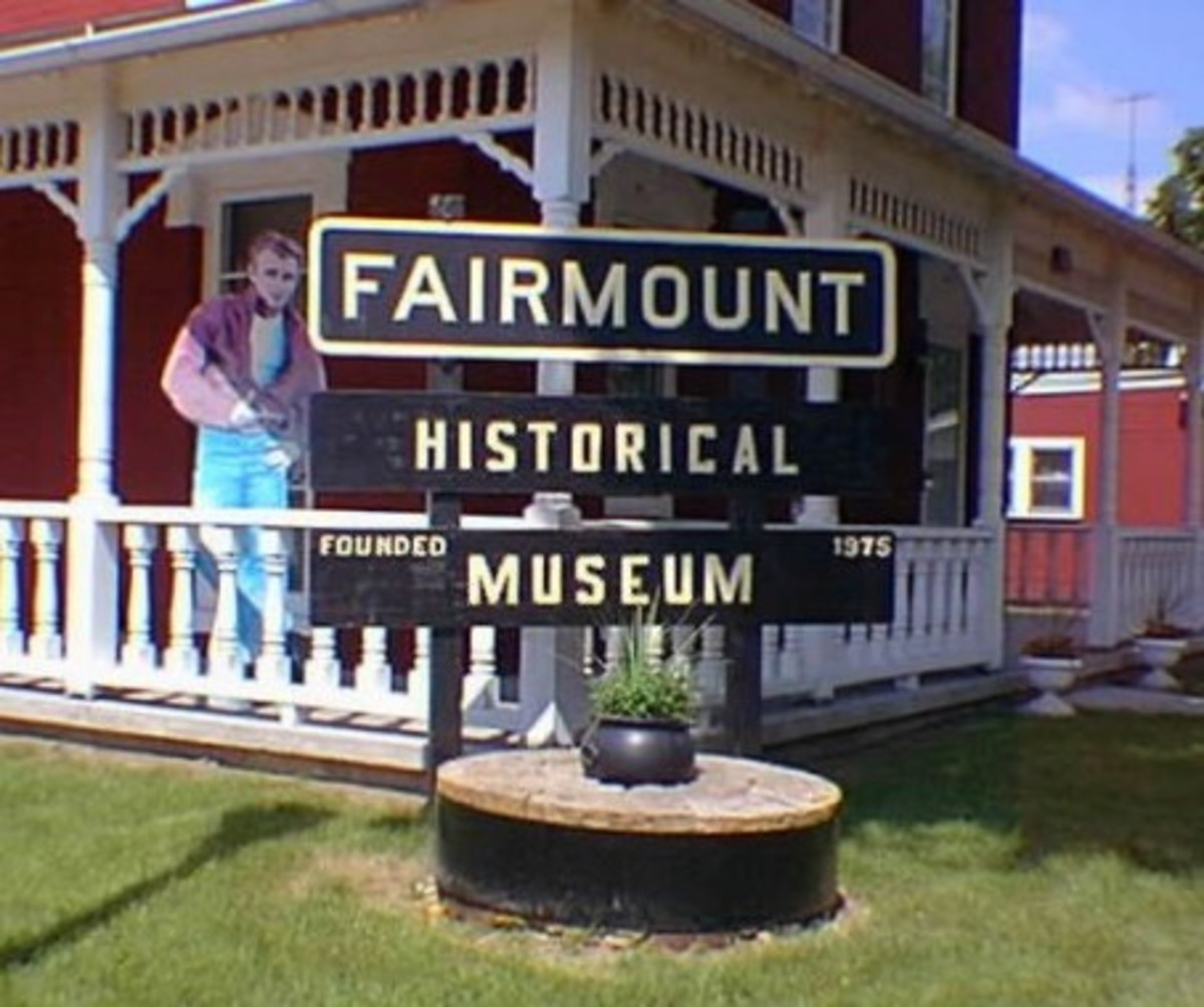 Famous People of Fairmount Indiana