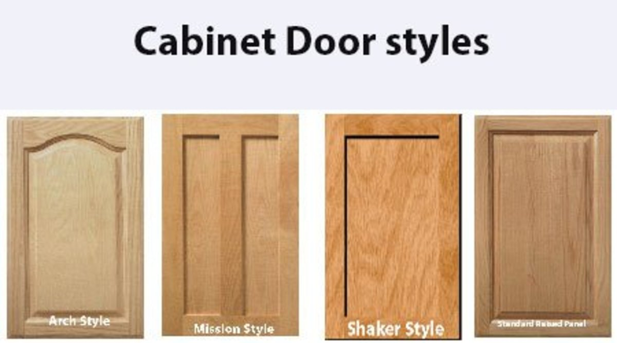 Cottage Craft Works allows customers to select from several door styles to fit an existing home decor.