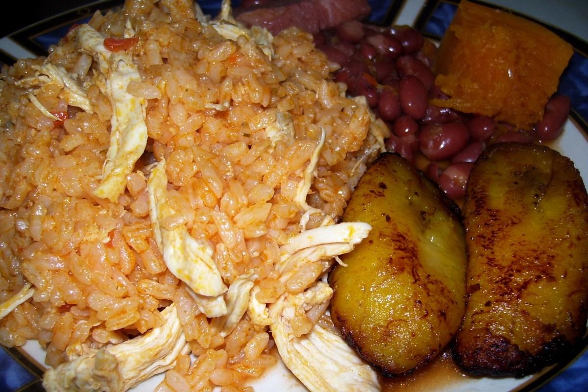 Island Bites Arroz Con Pollo Amp Habichuelas Puerto Rican