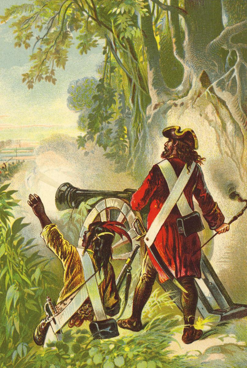 Robinson Crusoe by Offterdinger & Zweigle 1880