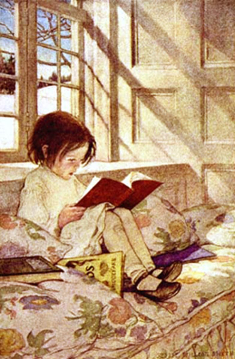 """Jessie Wilcox Smith """"A Garden of Children's Verses"""""""