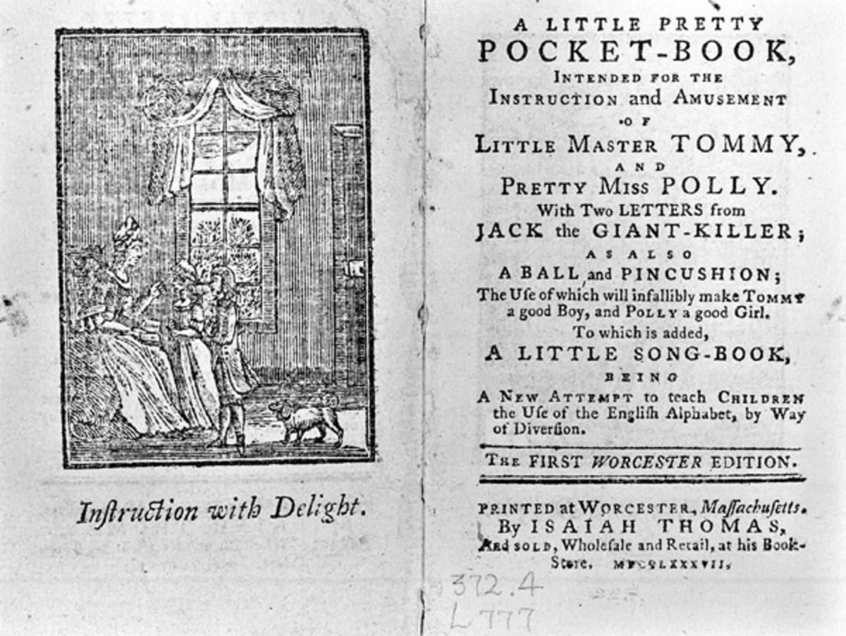 "Newbery's ""Pretty Little Pocket Book"""