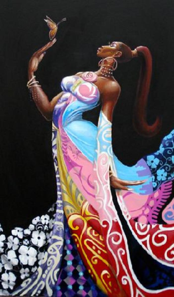"""""""Independent Queen"""" by Frank Morrison"""