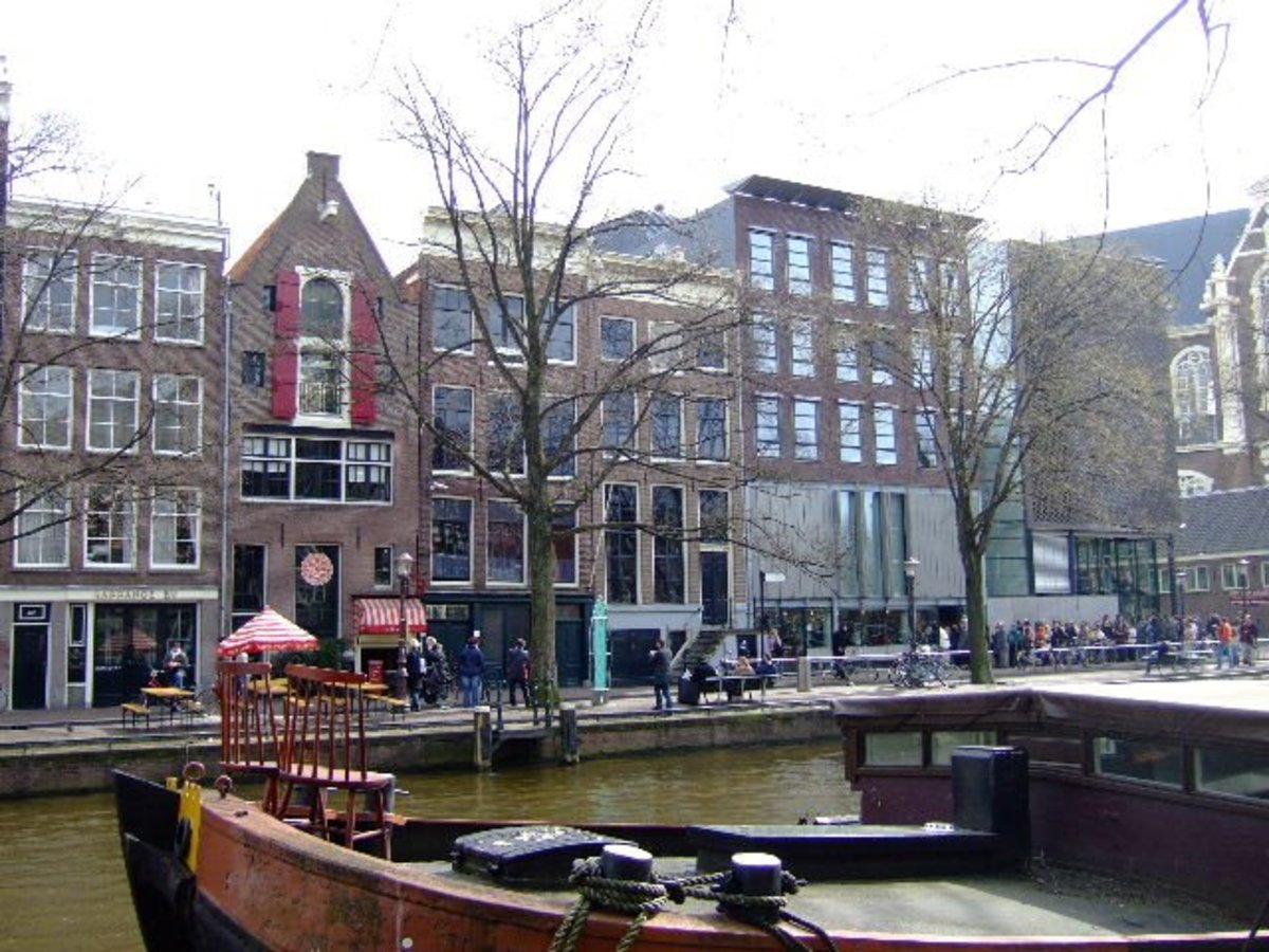 Anne Frank's House and Museum today in Amsterdam, the Netherlands and home of the new exhibition on Margot Frank.