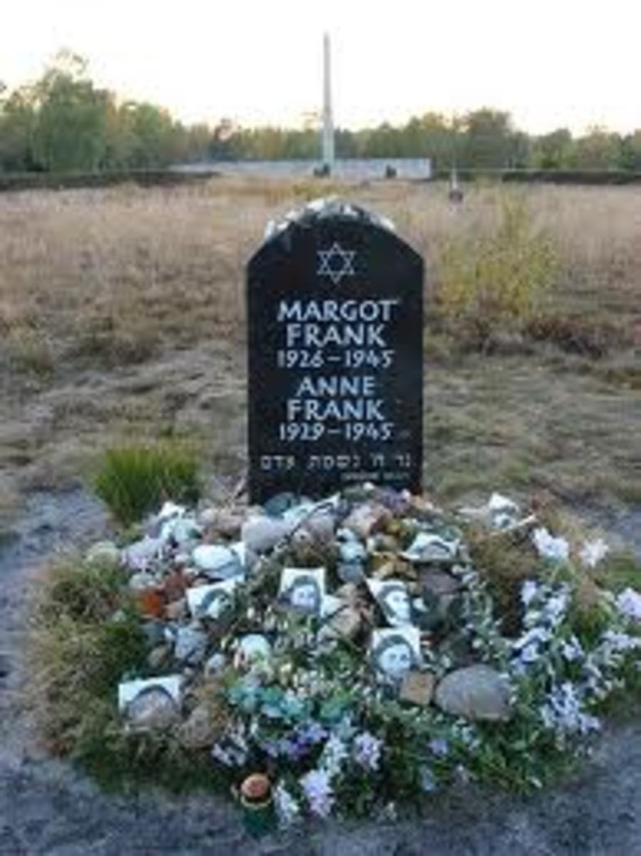 The mass gravesite where Margot and Anne were buried at the Bergen-Belsen concentration camp.