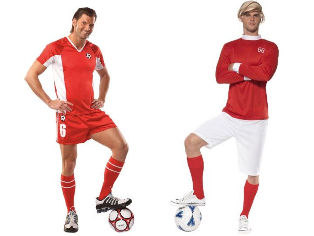 Men Soccer Halloween Costumes