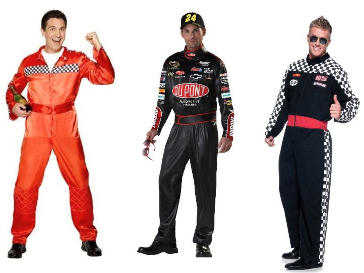 Men Race Car Driver Halloween Costumes