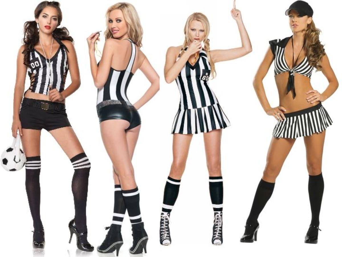 Women Referee Halloween Costumes