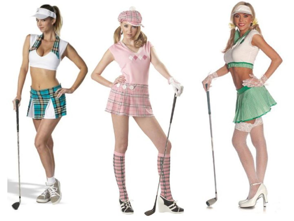 Women Golfer Halloween Costumes