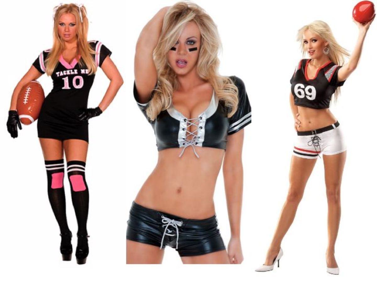 Women Football Halloween Costumes