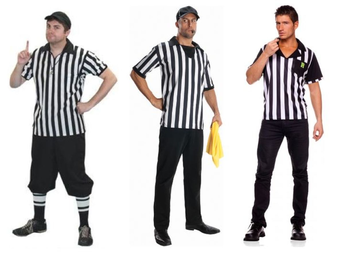 Men Referee Halloween Costumes