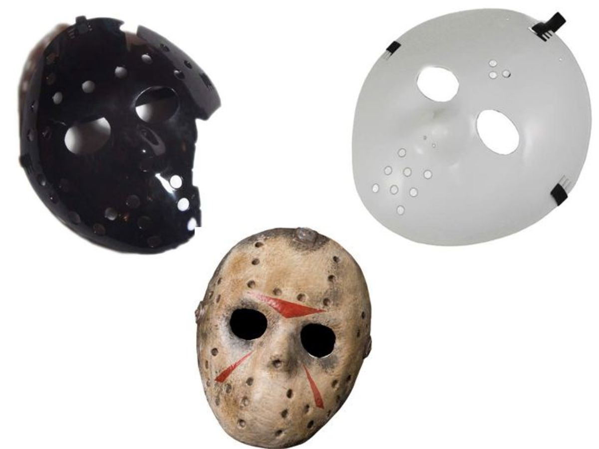 Halloween Costume Hockey Masks