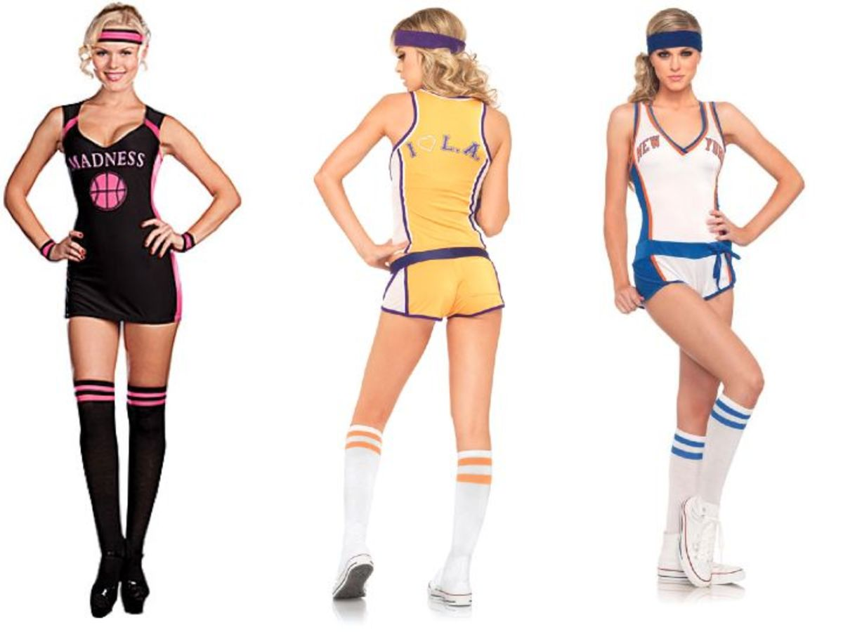 Women Basketball Halloween Costume