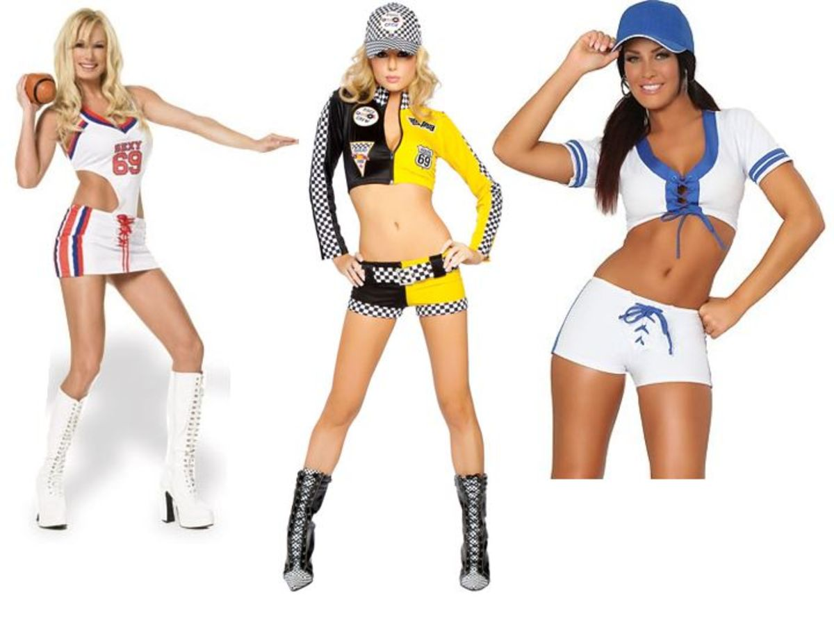 Sports Halloween Costumes Men vs Women
