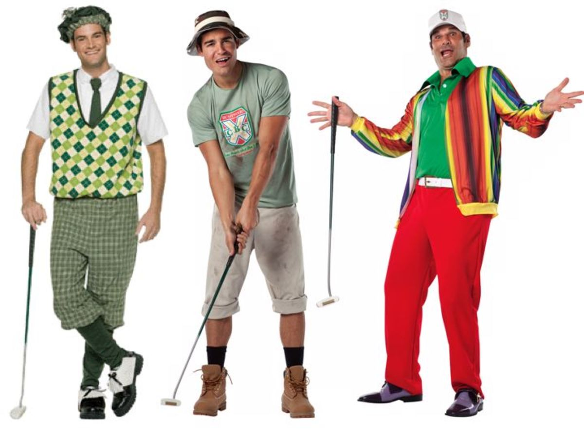 Men Golf Halloween Costumes