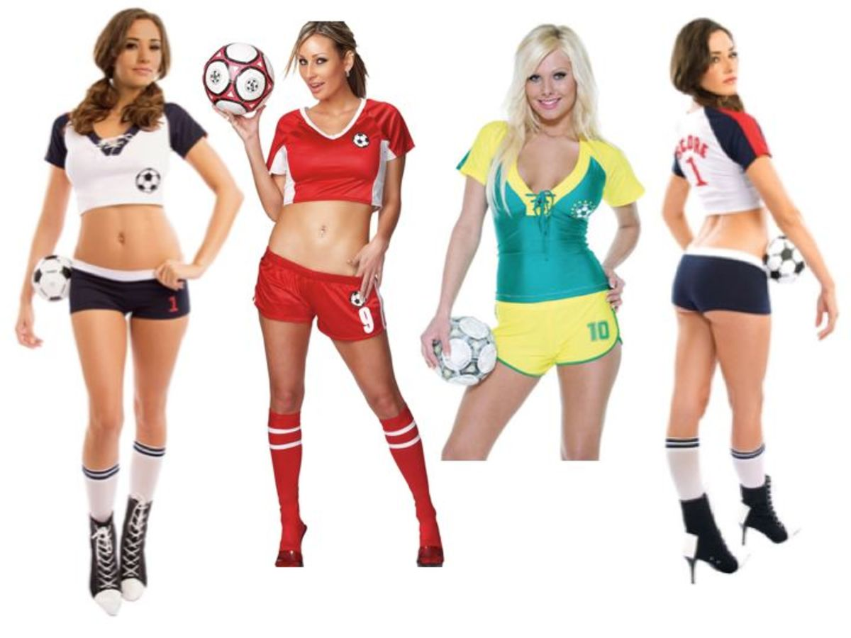 Women Soccer Halloween Costumes