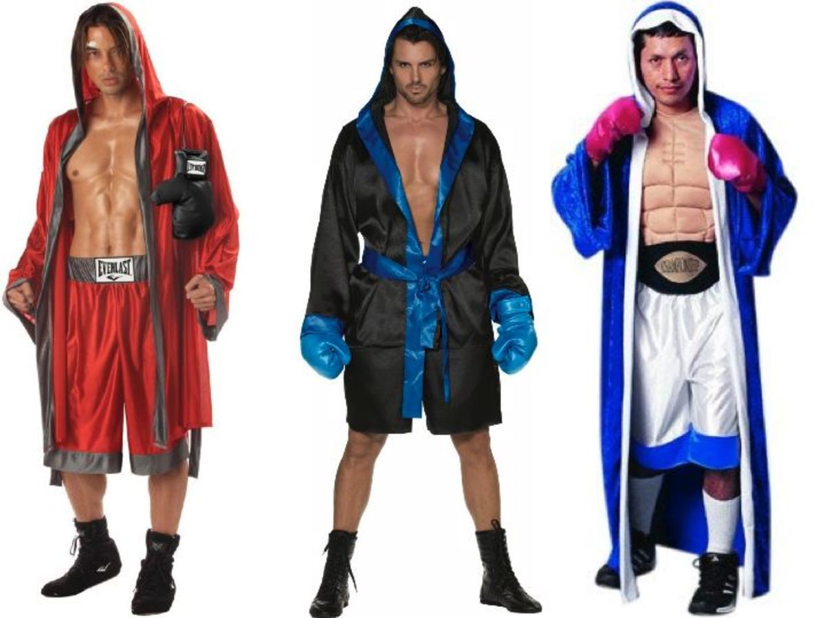 Adult Men Boxer Halloween Costumes