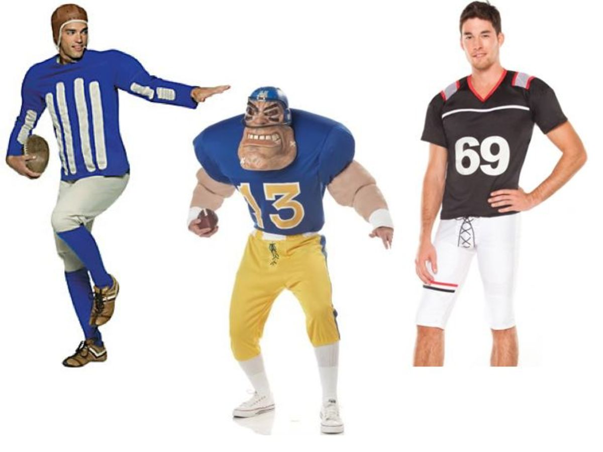 Men Football Halloween Costumes