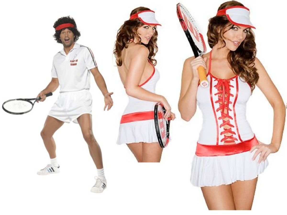 Adult Tennis Halloween Costumes