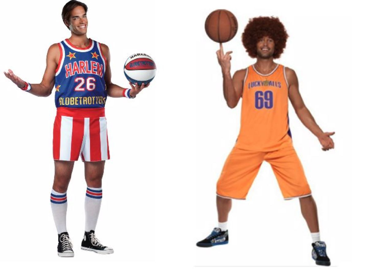 Adult Men Basketball Halloween Costumes