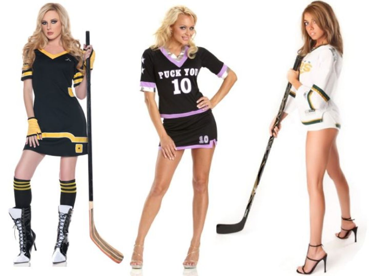 Women Hockey Halloween Costumes