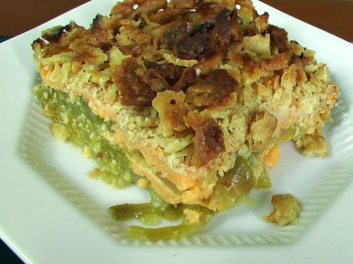 "My ""Famous"" Green Tomato Casserole Recipe"