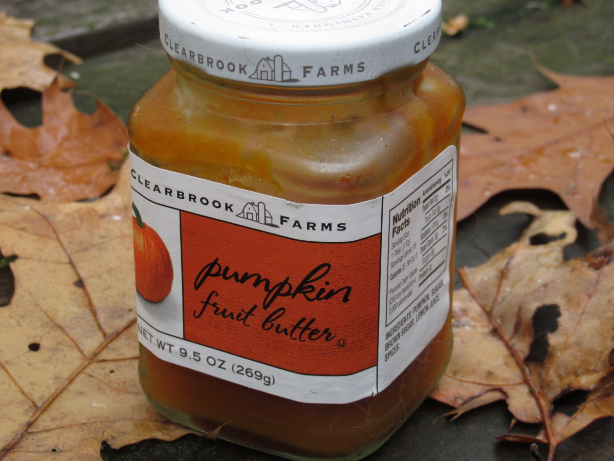 Pumpkin and apple butters are loved by birds.