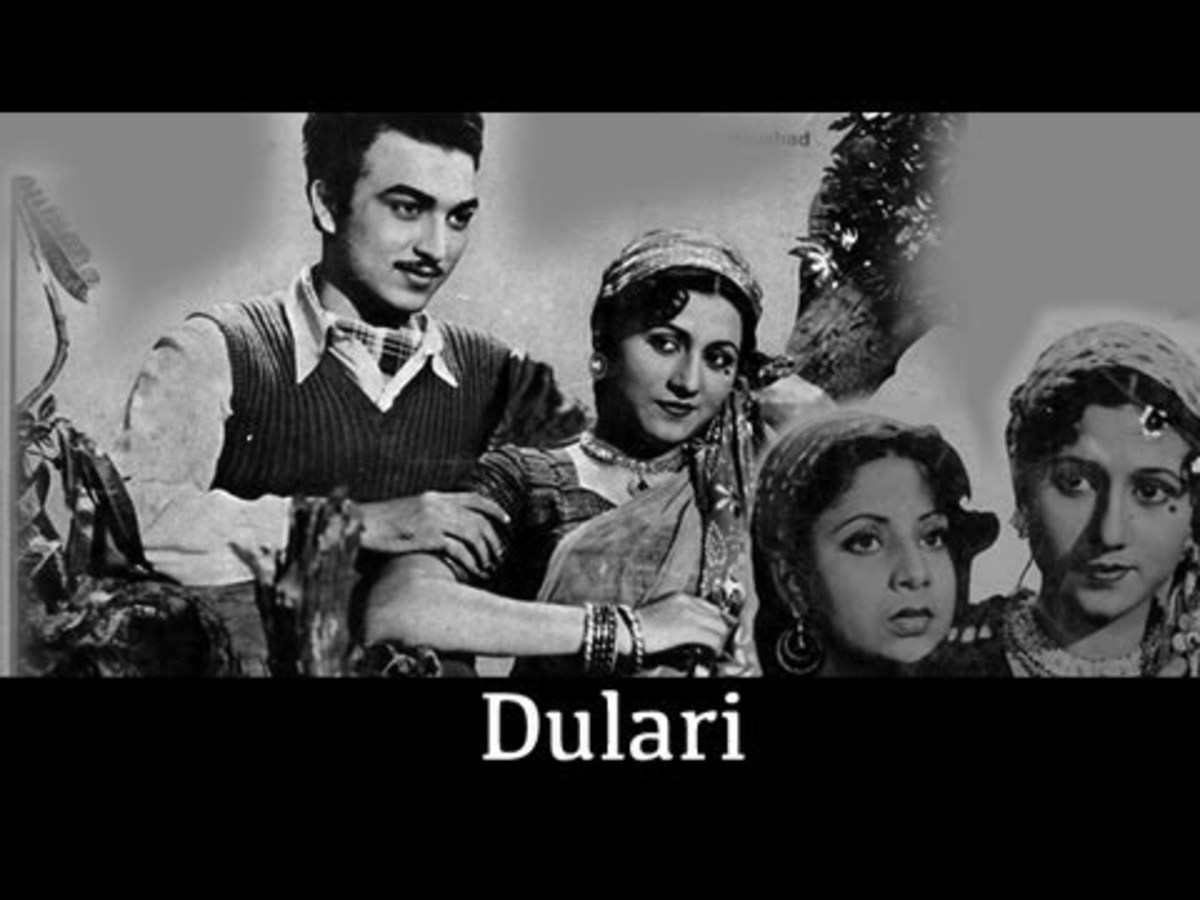 Madhubala in Dulari movie