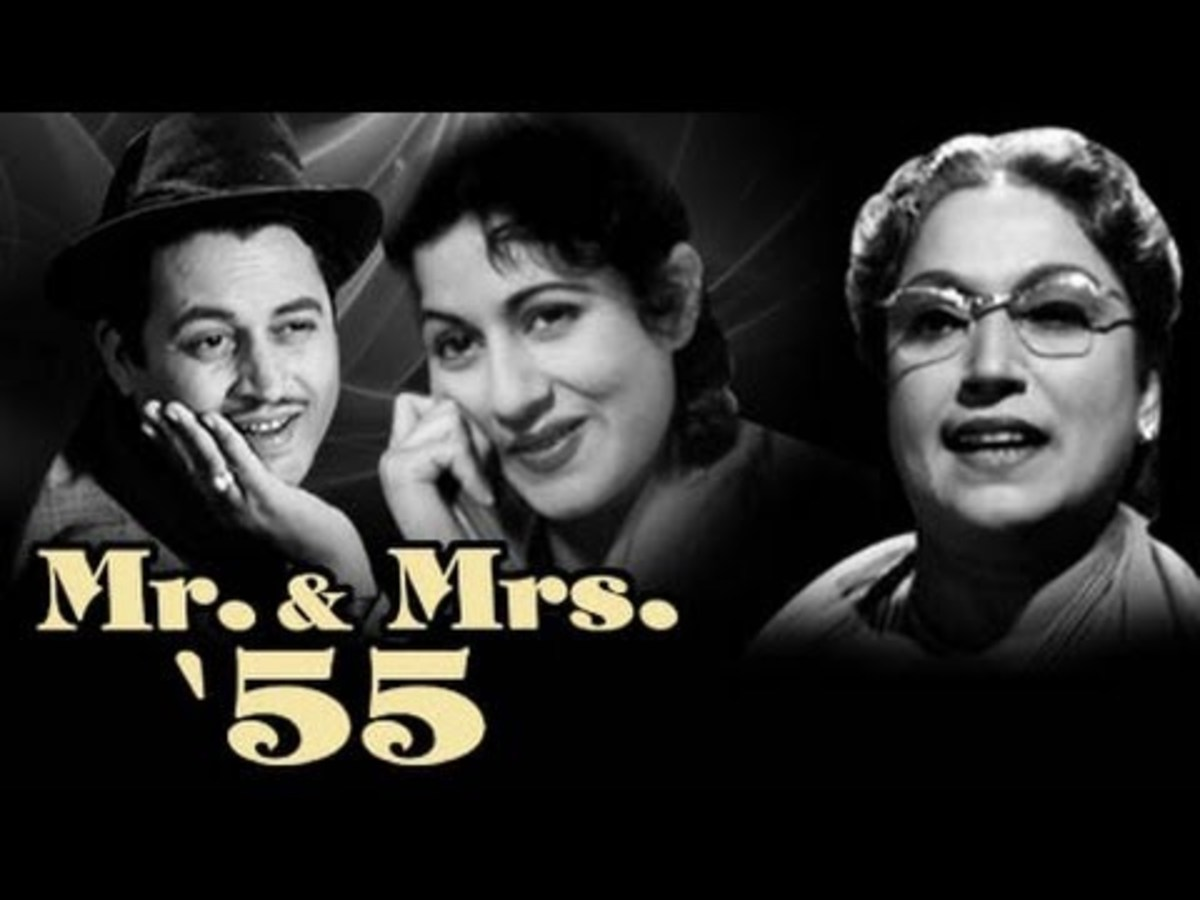 Madhubala in Mr. & Mrs. 55