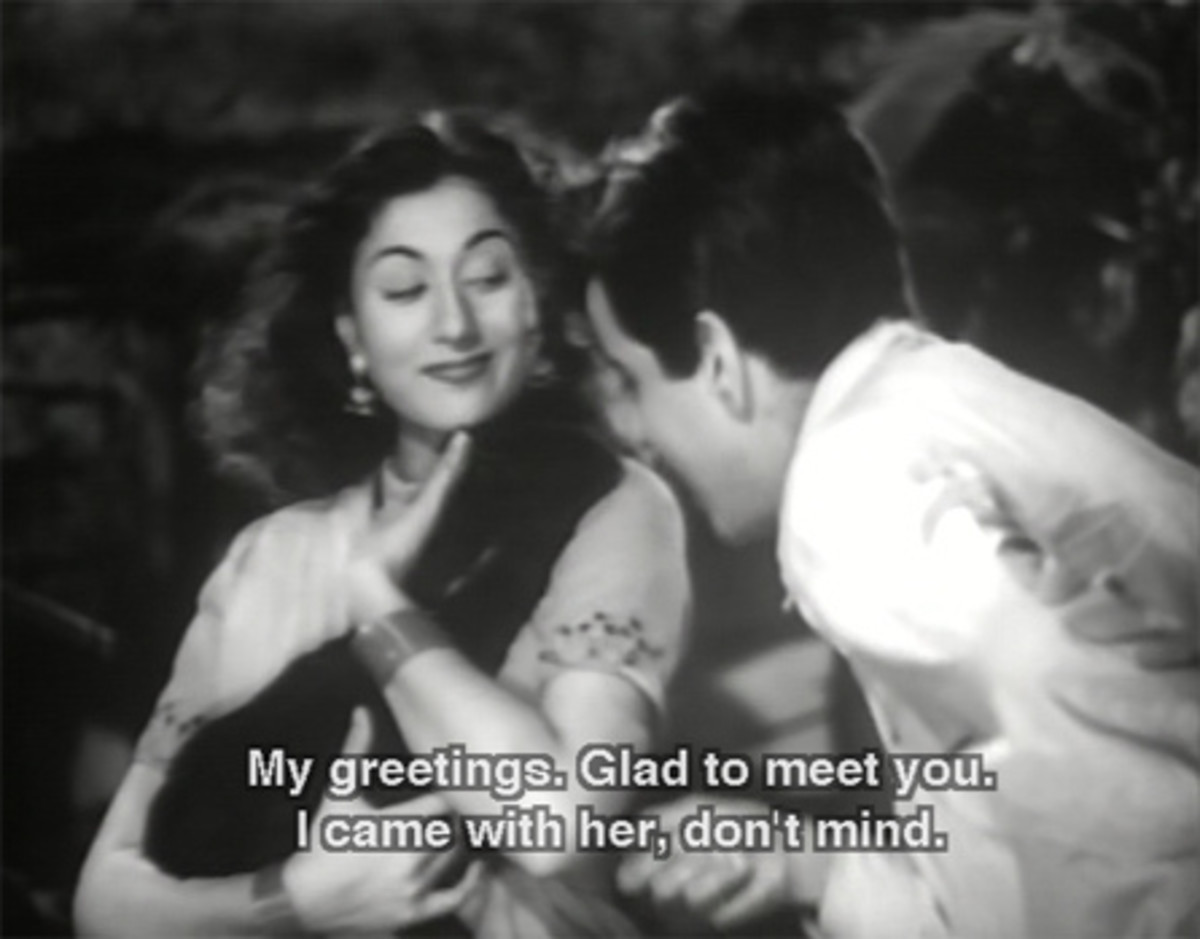 Madhubala in movie Tarana