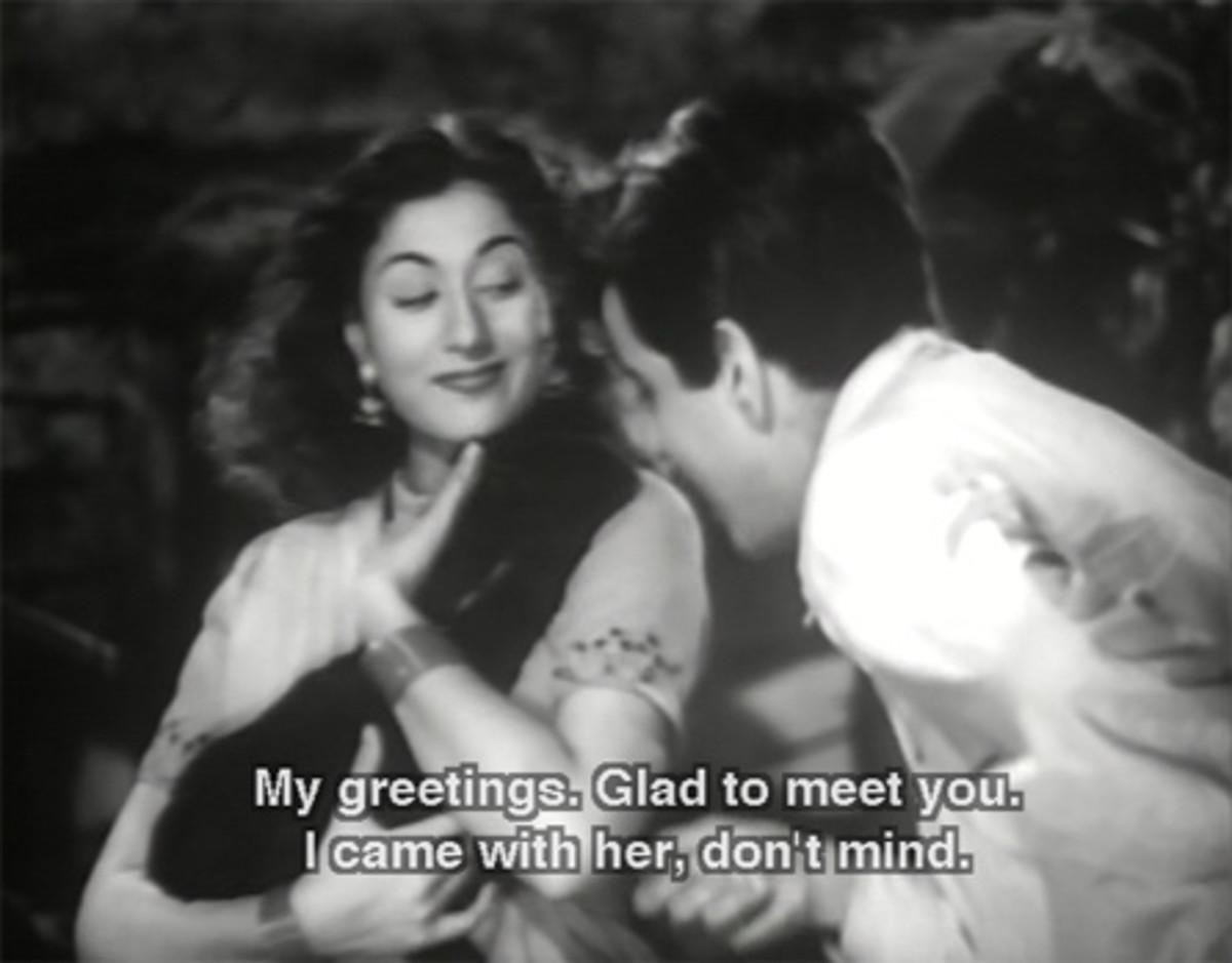 Madhubala in movie Tarana