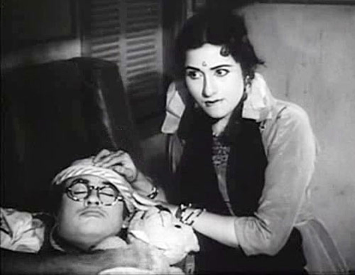 Madhubala in Half ticket movie
