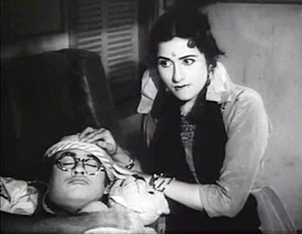 Madhubala in Half ticket movie