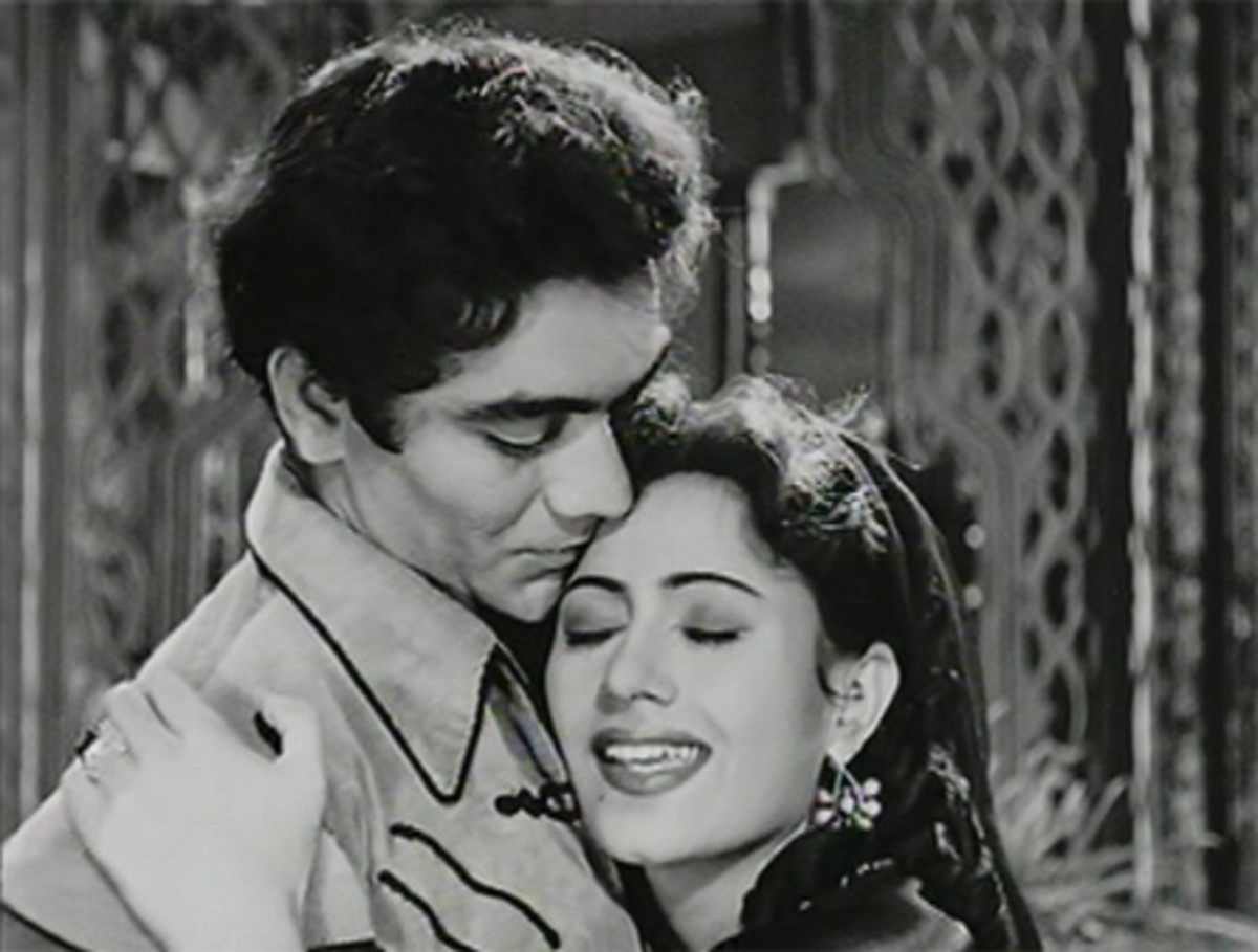 Madhubala in movie Badal