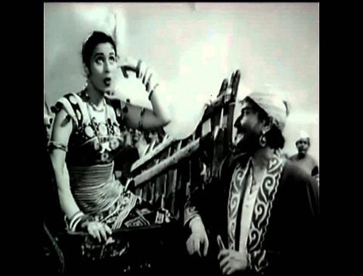 Madhubala in Phagun