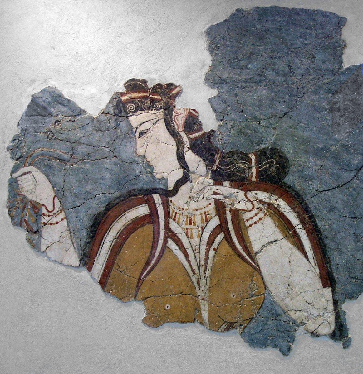 Mycenaean Fresco
