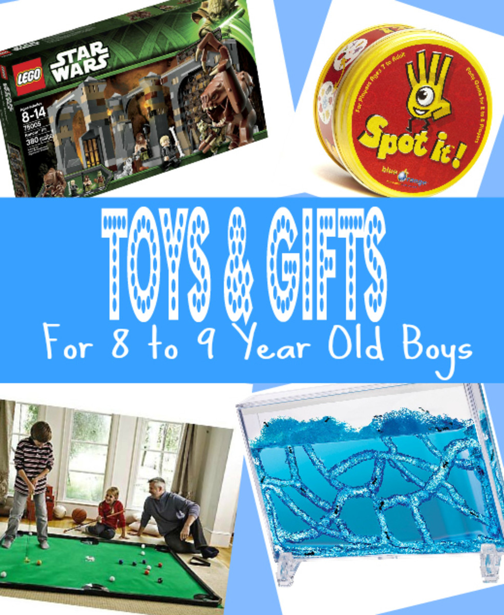 Top Toys & Gifts for 8 to 9 Year Old Boys
